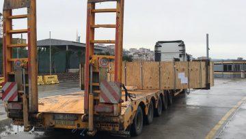 Oversize Transport Ambarlı Port - 66 Ton