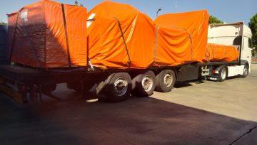 Bursa Turkey to Norway Bergen City Oversize Transport